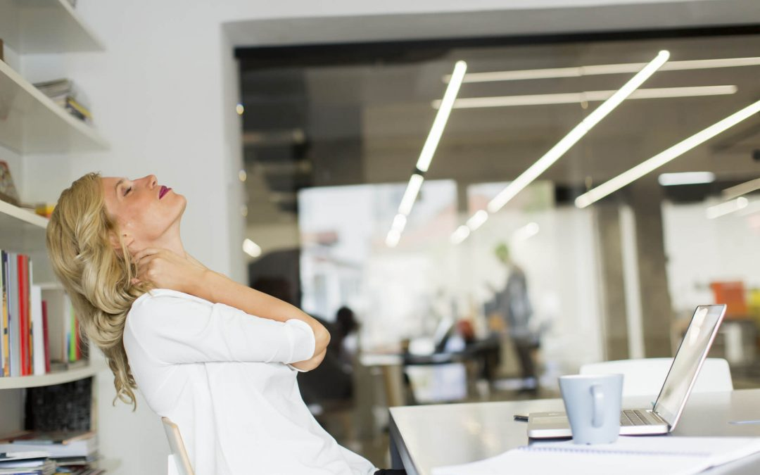 5 Great Stretches To Do At Your Desk