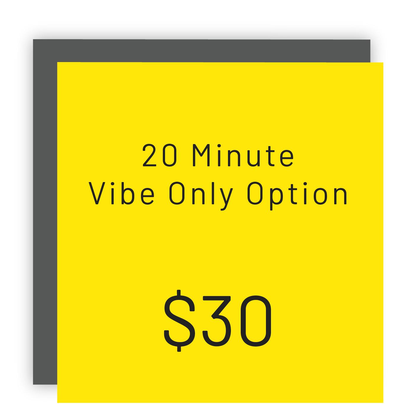 s22 30 min vibe only