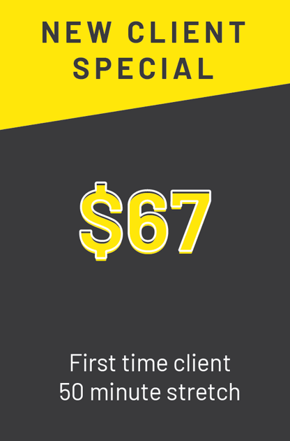 new client special stretch